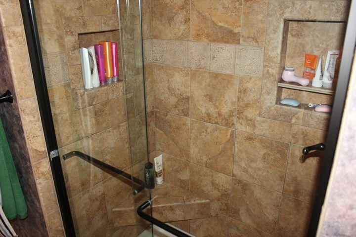 Gorgeous Bar U0026 Kitchen Walk In Shower Walk In Shower Body Jet Comfort Shower  Niche U0026 Bench Custom Bath Vanity Custom Bath Storage ...
